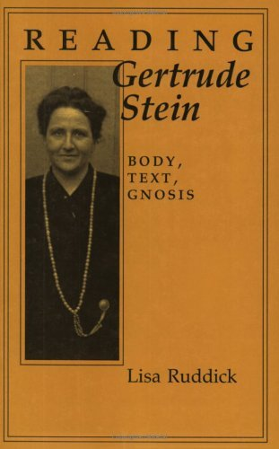 Reading Gertrude Stein: Worldwide Changes in Employment Systems: Body, Text, Gnosis (Reading Women Writing) by Lisa Ruddick (2014-06-26)