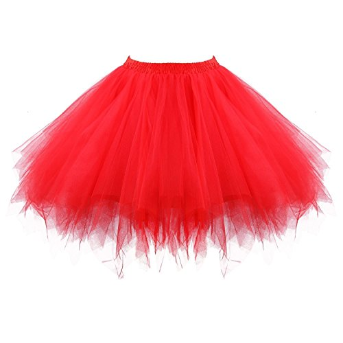 Izanoy - Jupe - Femme Rouge