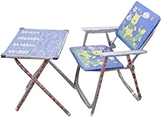 KIDS STUDY & PLAY TABLE CHAIR (Blue)