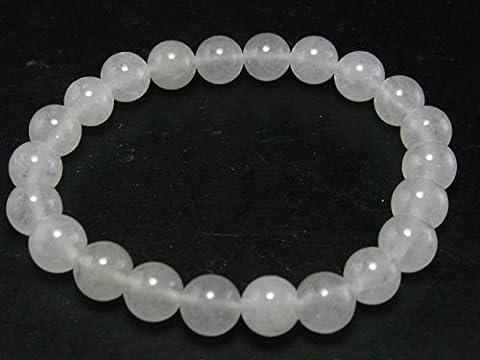 Echt azeztulite Armband aus North Carolina–17cm–8mm Rund Perlen