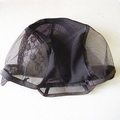 GANTA @ 1pc Perücke Kappen für die Herstellung nur Spitzen Weben Kappe verstellbaren Trägern zurück hohe Qualitätsgurantee Perücken strecken , (Brown Perücke Verkäufer)