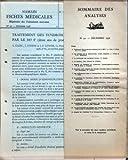 Telecharger Livres FICHES MEDICALES LES N 32 du 25 12 1938 SOMMAIRE DES ANALYSES TRAITEMENT DES SYNDROMES ANGINEUX PAR LE 883F PAR A CLERC J STERNE ET JP LENOIR LES ASTHMES DE LA CINQUANTAINE PAR ANDRE JACQUELIN LE TRAITEMENT DES AZOTEMIES RENALES PAR G SIGURET LA BARDANE PAR JEAN SCHUNCK DE GOLDFIEM MALADIE DE BASEDOW ET SYNDROMES HYPERSYMPATHICOTONIQUES PAR M ET MME J ENSELME COMMENT TENIR COMPTE DES DONNEES NOUVELLES DANS LE TRAITEMENT DES CARDIALGIES PAR M JACQUET LES MEDICAMENTS DANS LA TH (PDF,EPUB,MOBI) gratuits en Francaise