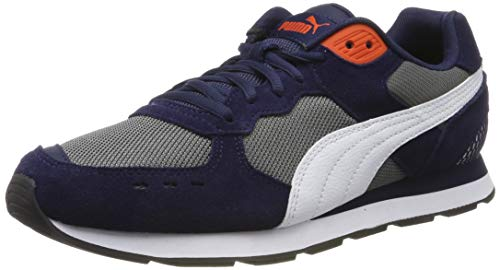 PUMJV|#Puma Vista Zapatillas Unisex adulto, Azul (Peacoat-Puma White-Cherry Tomato 06), 36 EU (3.5 UK)