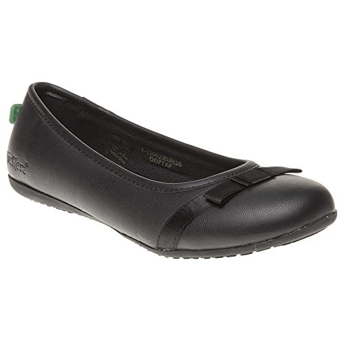 Kickers Verda Bow Shoes Black 5 UK