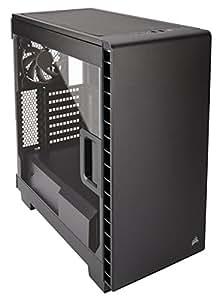 Corsair Carbide Clear 400C Case Mid-Tower ATX/mATX per PC, Ventola da 12 cm, Nero