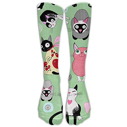 Compression Socks Soccer Socks High Socks Long Socks For Running,Travel,Pregnancy,Shin Splints,Nursing. ()