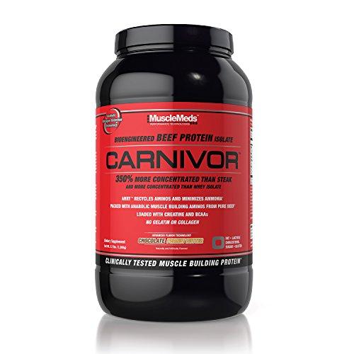 Musclemeds - Carnivor Choco Peanut Butter 2,2 Lb - 41yW3GjFNkL