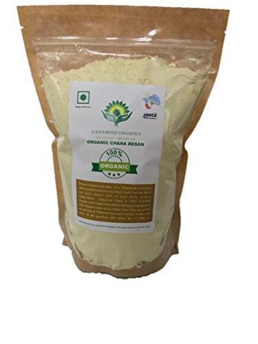 Aaharved Organic Chana Besan/Gram Flour,500 Grams