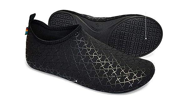 4fa9ae0f5f72 Lootkabazaar Korean Made Rlok Skin Unisex Quick Drying Shoes Water Sports Shoes  Aqua Barefoot Socks Surf Pool Yoga Beach Swim Exercise  Buy Online at Low  ...