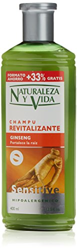 Naturaleza y Vida Shampoo Sensitive Rinvigorente - 400 ml