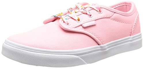 Vans Atwood Low - Scarpe da Ginnastica Basse Bambina, Rosa (canvas/pink Candy), 32 EU Rosa (canvas/pink Candy)