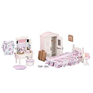 calico critters bedroom sylvanian families guest bedroom set co uk toys 10974