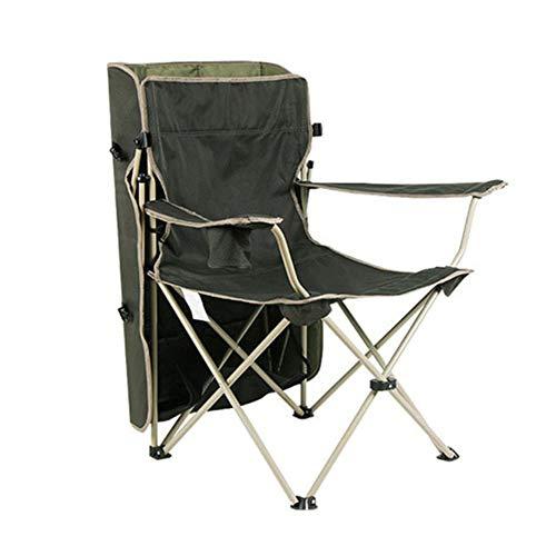 Taburete plegable portátil, silla plegable al aire...
