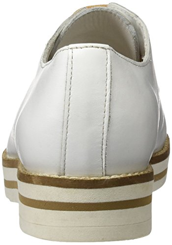 Coolway Avocado, chaussures Derby femme Blanc