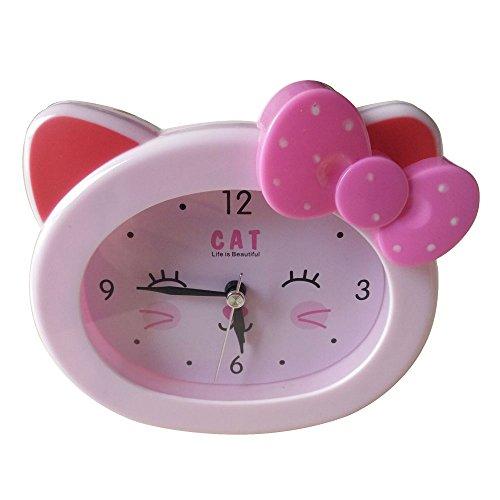 S.W.H Linda Reloj Despertador Mesita Niños Niñas