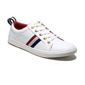 Barton White Bostan Casual Sneakers