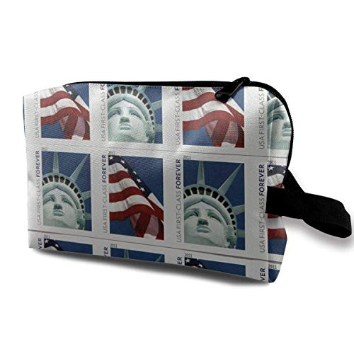 USA Post Mail Small Travel Toiletry Bag Super Light Toiletry Organizer for Overnight Trip Bag Lites Post-oxford