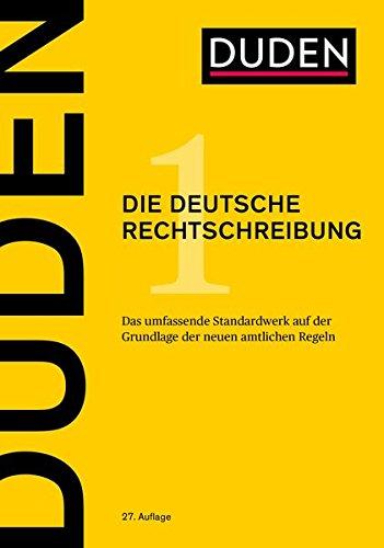 Produktbild Duden: Die deutsche Rechtschreibung,  Band 1 - Das umfassende Standardwerk auf der Grundlage der amtlichen Regeln (Der Duden in 12 Bänden)