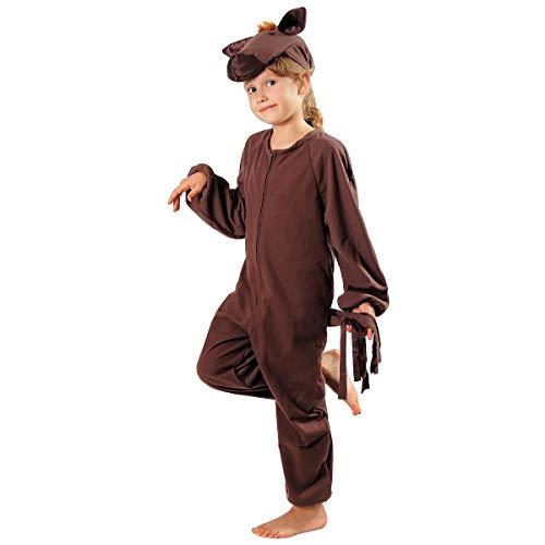 Und Pferde Ponys Kostüm Für - Pferdchen Pferd Pony Kostüm Kinder Fasching 110/116
