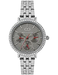 Gio Collection Analog Grey Dial Women's Watch - G2034-11
