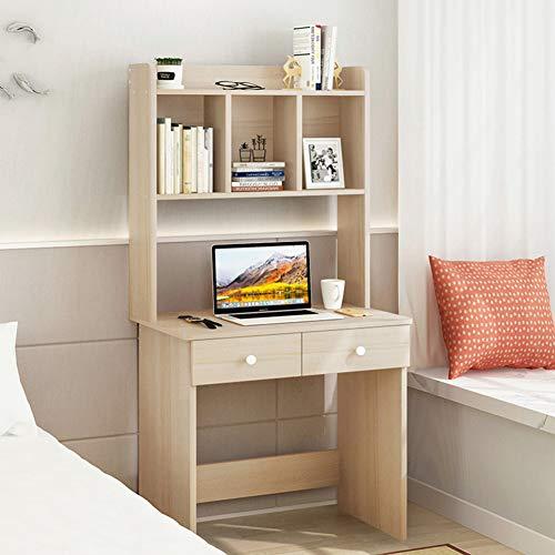 Escritorio con estantes de madera,Mesa de oficina Mesa de ...