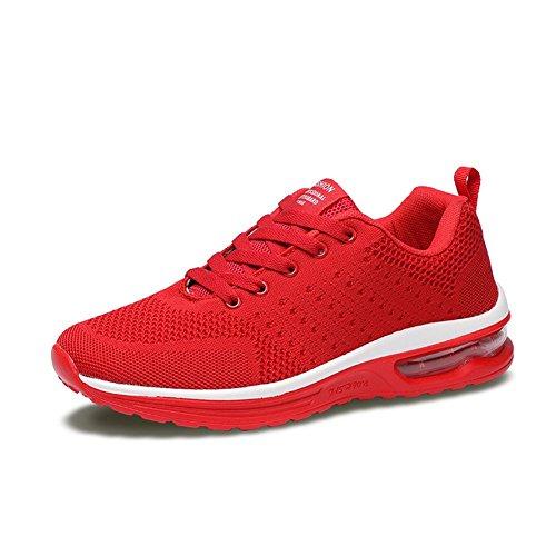 Fexkean Herren Damen Sneaker Laufschuhe Sportschuhe Air Leicht WalkingSchuhe Running Turnschuhe Shoes(5066RE39)