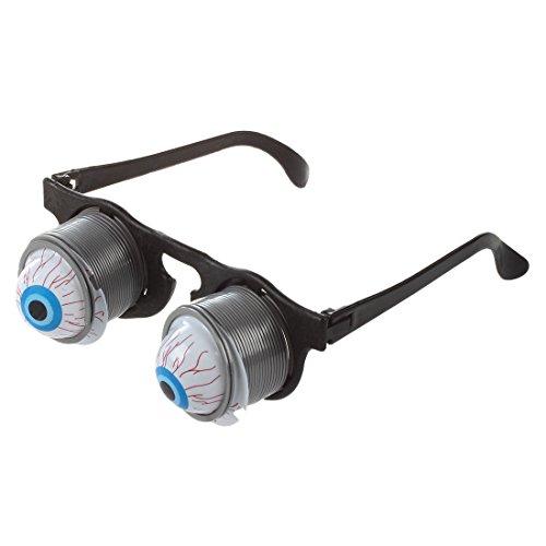Sodial(r) giocattolo pop occhi occhiali halloween carnival partito plastica joke horror shock