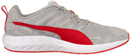 Puma Flare Woven Synthetik Turnschuhe Gray Violet-Quarry-Hrr-White