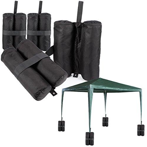 Standbeingewichte für Pavillons, 4 Stückgewichtete Füße, Sandsäcke, Anker für Pavillons, Zelte, Markisen
