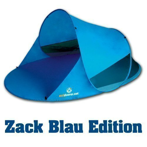 Outdoorer Pop up Strandmuschel Zack II blau, UV 60 thumbnail