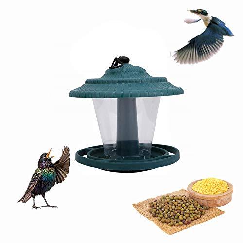 Vogelhäuschen Tierfutter Wasser Automatic Window Wild Feed Tool für die Fütterung im Freien mit hängenden Saugnapf Saatgutablage - Windows-reinigungs-tools