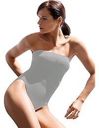 485ea8c114 SENSI' Body Gainant Sculptant Femme sans Coutures Bretelles Amovibles  Bonnets Confort Invisible Seamless Made in
