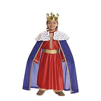 My Other Me Disfraz de Rey Mago Rojo para bebé
