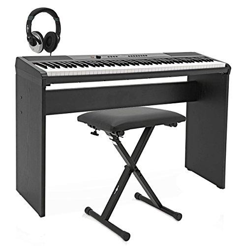 Pianoforte da palco SDP-2 Gear4music + kit daccessori