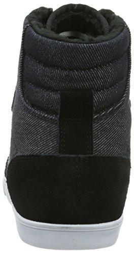 hummel HUMMEL SLIM STADIL DENIM HIGH, Unisex-Erwachsene Hohe Sneakers Schwarz (Black 2001)