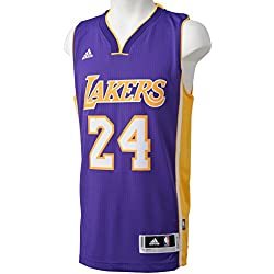 adidas Basketballtrikot Los Angeles Lakers Road Swingman, Camiseta para Hombre, Multicolor (Nba Los Angeles Lakers 1 302), XL
