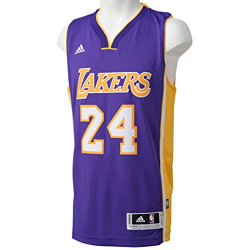 adidas Herren Basketballtrikot Los Angeles Lakers Road Swingman, Nba Los Angeles Laker, L, A45975