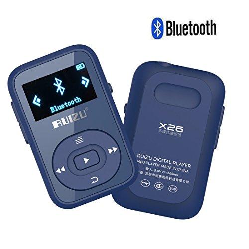 cfzc 8GB Sport Clip Bluetooth MP3Player verlustfreie Stereo Sound Musik Player mit FM RECORD | unterstützt bis zu 64GB Karte