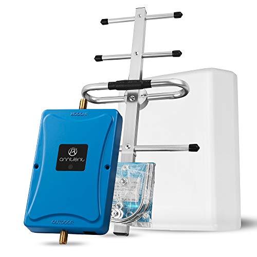 ANNTLENT 4G LTE Handy Signalverstärker Booster 800MHz (Band 20), 70 dB, Daten Verbessern, Hoheleistung, für Haus und Büro... Cell Antenne Adapter