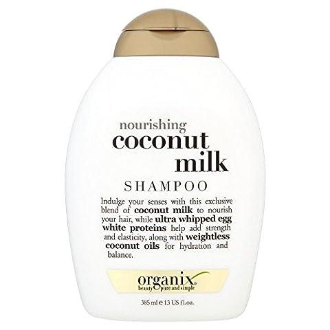 Organix Shampooing–Nourrissant Lait De Noix De Coco (385Ml)–Lot de 2