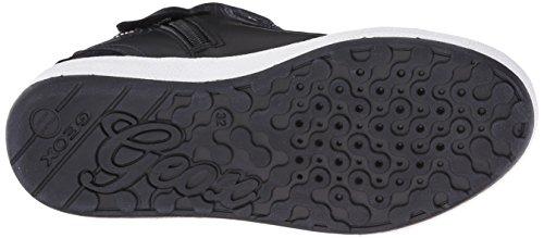 Geox J Witty D, Sneakers Hautes fille Noir (Black)