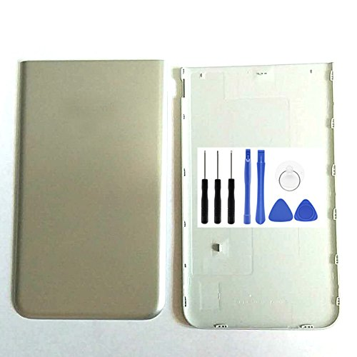 J72017j727V Akku Cover-Samsung Galaxy J72017j727V Silber Hinten Akku Tür Akkudeckel Ersatz Werkzeug (Fit für Verizon) ()