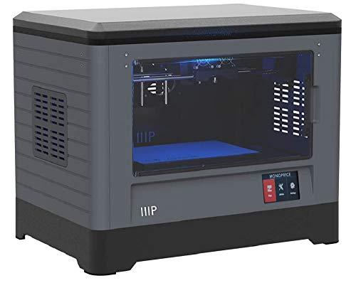 Monoprice Dual Extruder 3D-Drucker - Schwarz mit beheizter Bauplatte (230 x 150 x 160 mm) Vollständig geschlossen, eingebaute Kamera, automatische Wiederaufnahme, Touchscreen, einfaches WLAN - 3