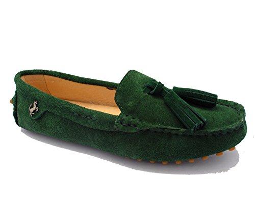 Minitoo , Sandales Compensées femme Vert jade