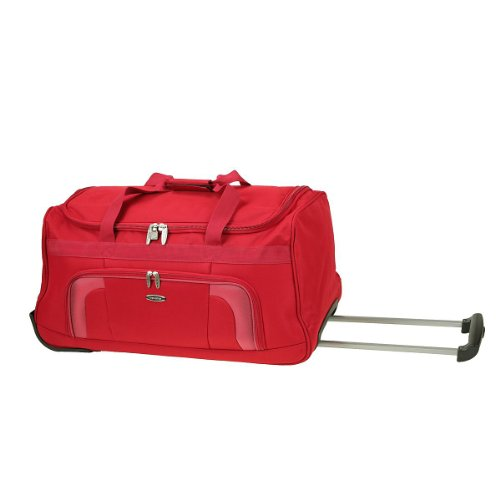 Travelite Orlando - Bolsa de viaje con ruedas (70cm, 76 L), color rojo (rot) - Talla única
