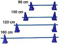AGILITY pour chien Sport-Obstacle à douille pour coordination Training-23cm, couleur?: bleu-Tailles Différentes