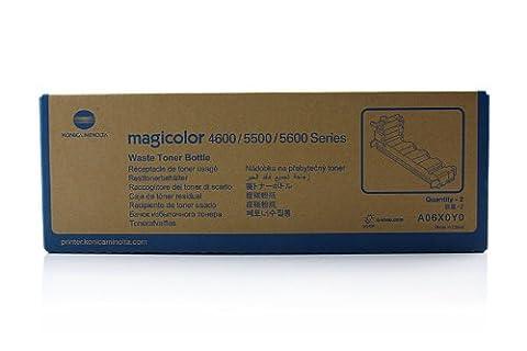 Konica Minolta Magicolor 4650 EN (A06X0Y0) - original - 2 x Resttonerbehälter - 36.000 Seiten