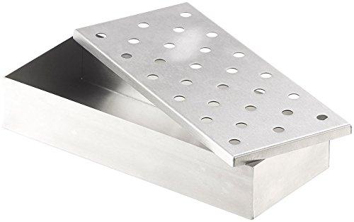 41yWOcbLFBL - Rosenstein & Söhne Smokerbox: Räucherbox aus rostfreiem Edelstahl, für Gas- und Holzkohlegrills (BBQ-Räucherbox)
