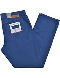 Brax Hose Cooper Baumwolle Stretch Blau washed 5-Pocket