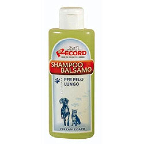 Record Rekord Bio Line All-in-One Haustier Protein Entwirren Shampoo-Conditioner für Long-beschichtete Katzen und Hunde